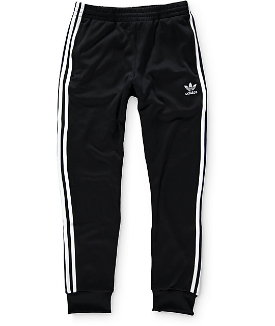 Unique Adidas Closed Bottom Pant Black Womens Jogging Pants  Wooki