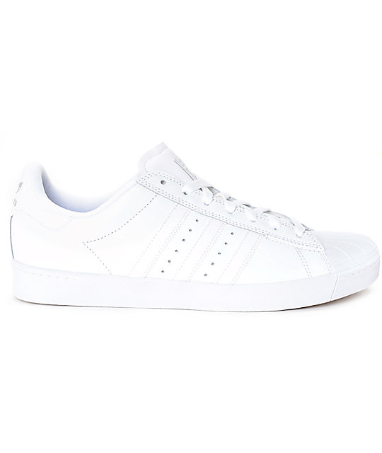 Mens Black & White Cheap Adidas Superstar Boost Trainers schuh