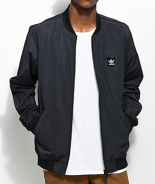 adidas Unschooled Lightweight Black Jacket   Zumiez