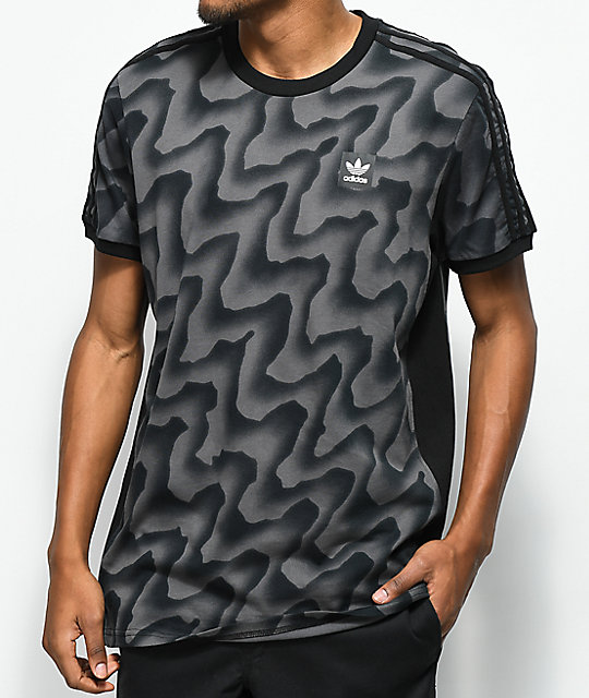 adidas Warped Black T-Shirt