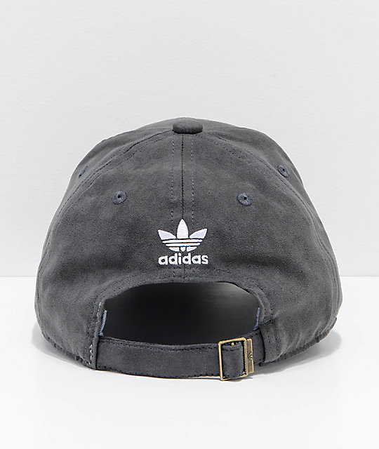 adidas Women's Relaxed Plus Black Strapback Hat