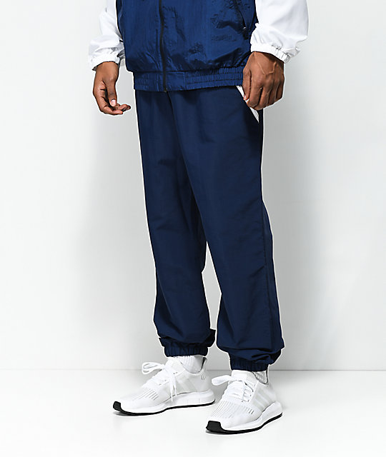 Adidas Workshop Blue Track Pants by Adidas