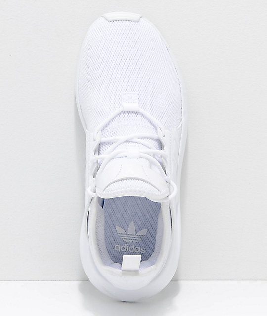 adidas Xplorer All White Shoes