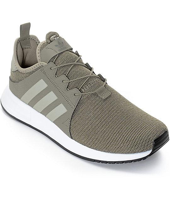 adidas Xplorer Green & White Shoes