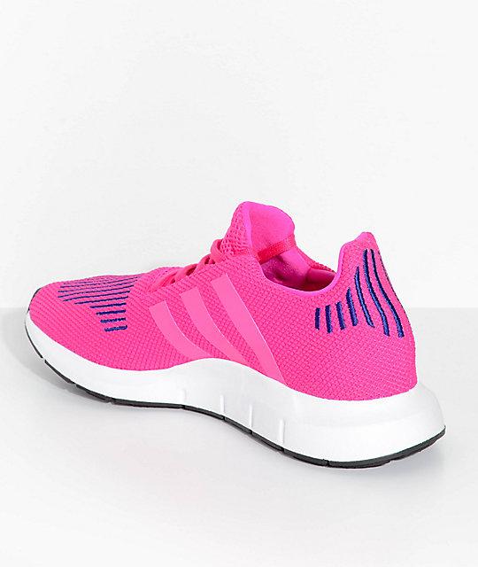 ¡Adidas Swift Run niñas tamaño défi j'arr tête, J 'y Gagne!