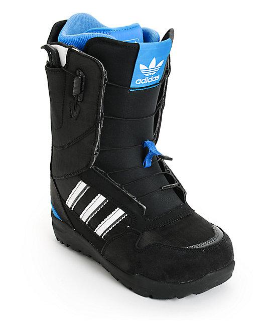 adidas ZX 500 Black Snowboard Boots
