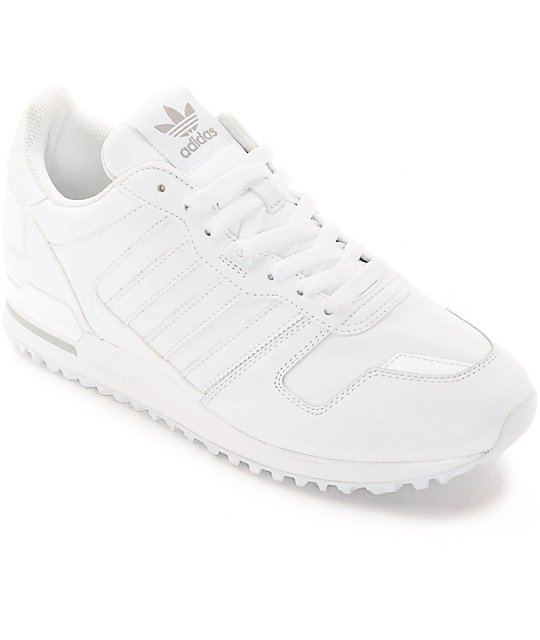 Adidas Zx 700 White Leather