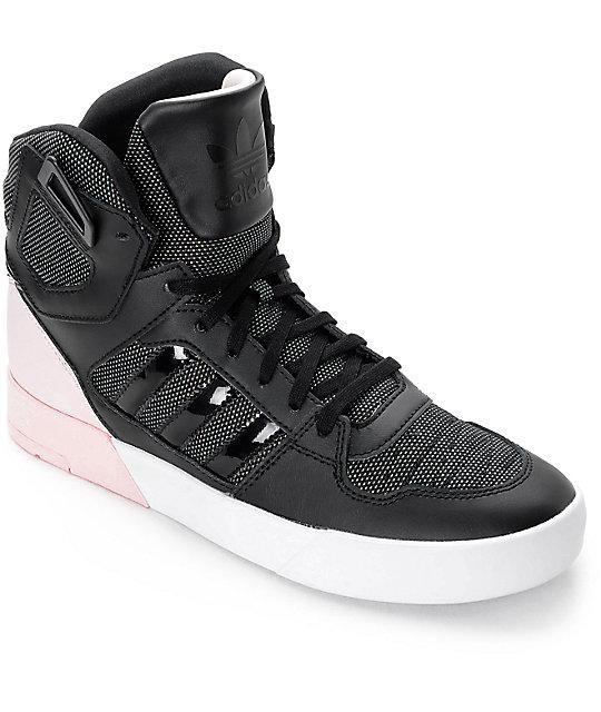 adidas Zestra Black & Pink Womens Shoes