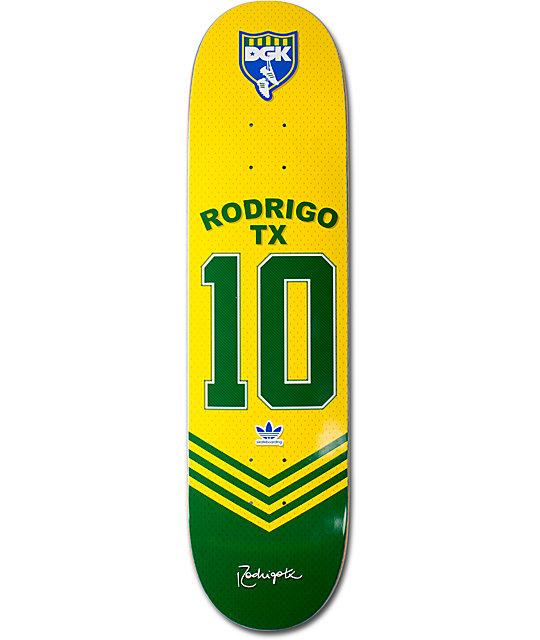 "adidas x DGK Skate Copa Brazil Rodrigo TX Jersey 8.06""  Skateboard Deck"