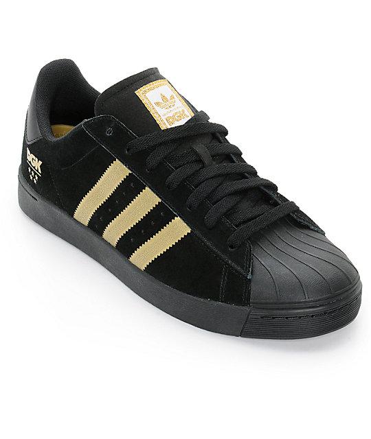 Adidas Men's Superstar Foundation Leather Sneaker, White/Navy