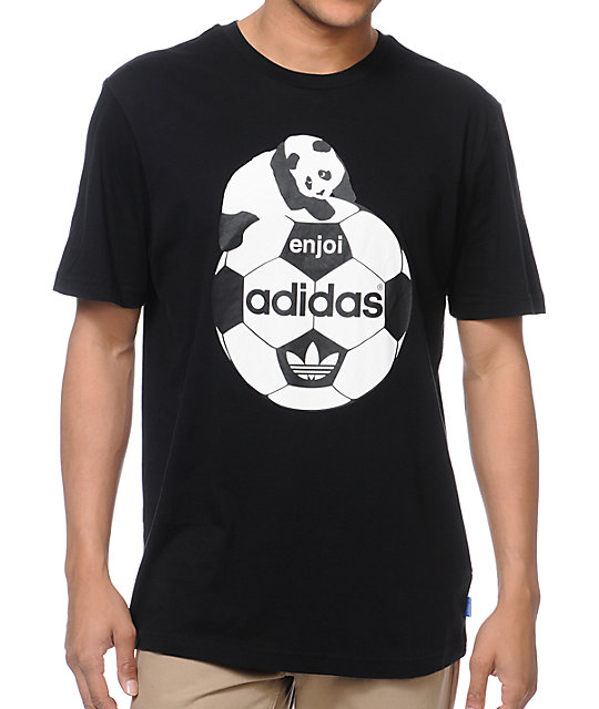 adidas x Enjoi Black T-Shirt