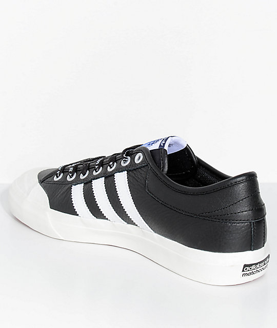 adidas x Trap Lord Matchcourt Black & White Shoes