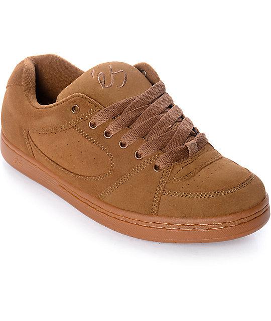 eS Accel OG Brown & Gum Skate Shoes