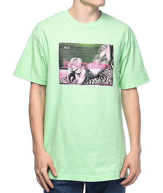 in4mation Rewind Mint T-Shirt