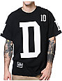 10 Deep Collegiate Black T-Shirt
