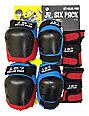 187 Killer Pads Jr. Six Pack Blue & Red Pad Set