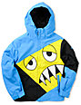 686 Boys Snaggleface 5K Blue Snowboard Jacket