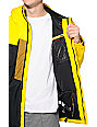 686 Mannual Iconic 8k Yellow, Black & Brown Snowboard Jacket
