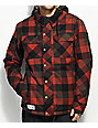 686 Woodland Red Plaid 10K Snowboard Jacket