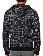 686 x Crooks & Castles Marble Black Tech Fleece Jacket