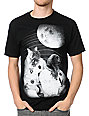 A-Lab Cat Meowstrong Black T-Shirt