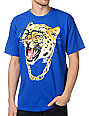 A-Lab Cat So Hard Blue T-Shirt