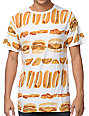 A-Lab Food Fight White T-Shirt