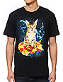A-Lab Galactic Nacho Cat Black T-Shirt