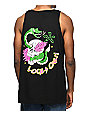 A-Lab Locals Only Black Tank Top