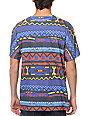 A-Lab Swagter Tribal Print T-Shirt