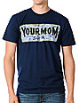 A-Lab Your Mom Says Hi Navy T-Shirt