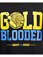 Adapt Gold Blooded Black T-Shirt