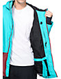 Airblaster Blaster Turquoise 10K Snowboard Jacket
