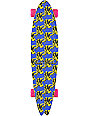 "Alien Workshop x Andy Warhol Cow 34.5""  Complete Longboard"