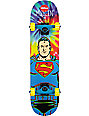 "Almost Mullen Superman Tie Dye 7.375""  Skateboard Complete"