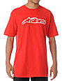 Alpinestars Blaze Red T-Shirt