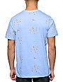 Altamont Skatebirds Blue Pocket T-Shirt