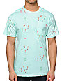 Altamont Skatebirds Mint Pocket T-Shirt