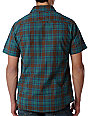 Altamont Slam Brown Plaid Woven Shirt