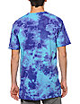 Altamont Stack Attack Aqua Tie Dye T-Shirt