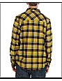Analog Bertley Yellow Flannel Shirt