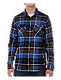 Analog Camper Blue Flannel Shirt