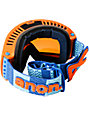 Anon Comrade Rally Blue & Orange Snowboard Goggles
