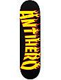 "Anti Hero Flaming Skate Co 8.38""  Skateboard Deck"