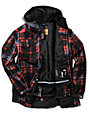 Aperture Elevation Red Plaid 10k Snowboard Jacket