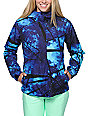 Aperture Girl Pow Pow Galaxy Print 10K Snowboard Jacket