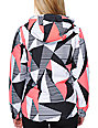 Aperture Girl Pow Pow Geo White 10K Snowboard Jacket