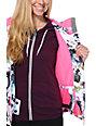 Aperture Girl Pow Pow Pho Real White 10K Snowboard Jacket