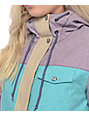 Aperture Heaven Blackberry, Teal & Khaki 10K Womens Snowboard Jacket