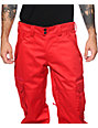 Aperture Sentry Red Cargo 10k Snowboard Pants